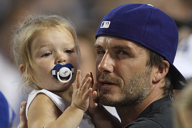 Дэвид Бэкхем дал ответ на критику в сторону его дочери
