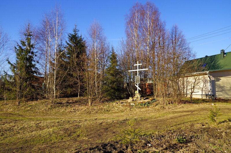 Захоронение ВОВ в Ожигово, Рузский район
