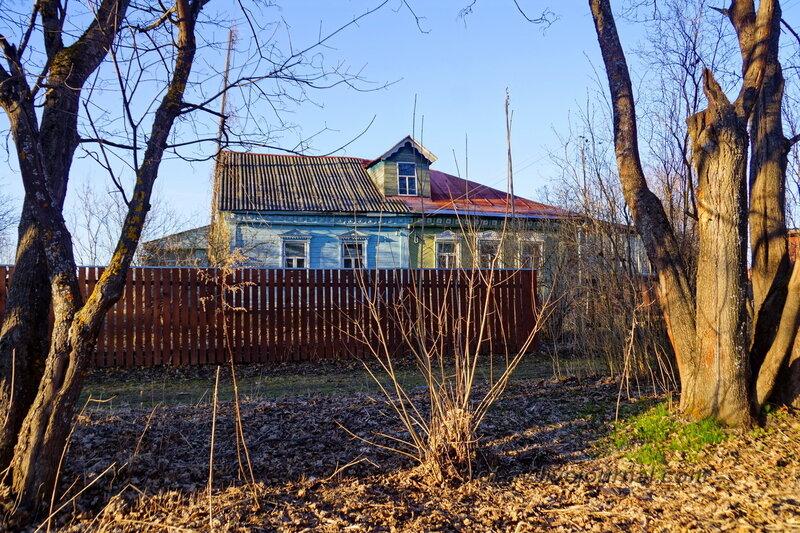 Дом в Ожигово, где во время ВОВ была школа