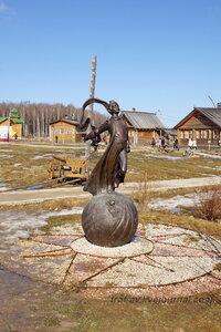 Памятник Маленькому принцу, Этномир, Калужская обл.