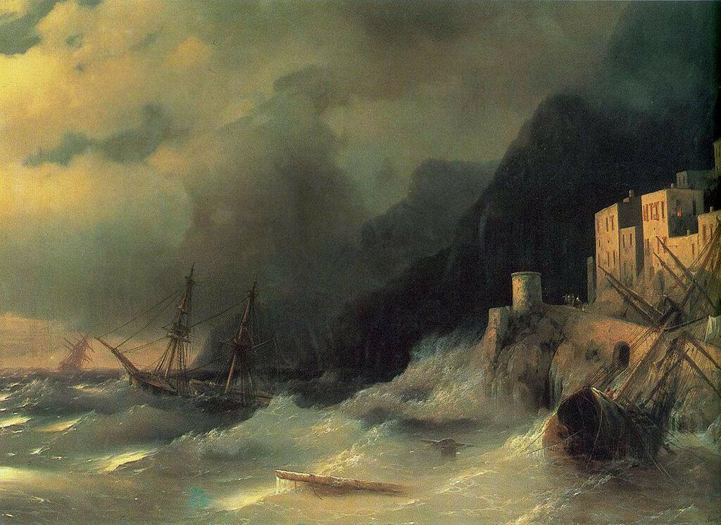 Буря на море. 1850.jpg