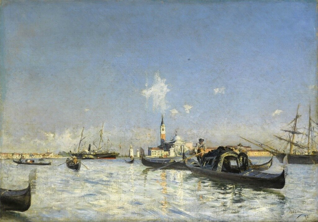 The Island of San Giorgio in Venice, 1872.jpeg