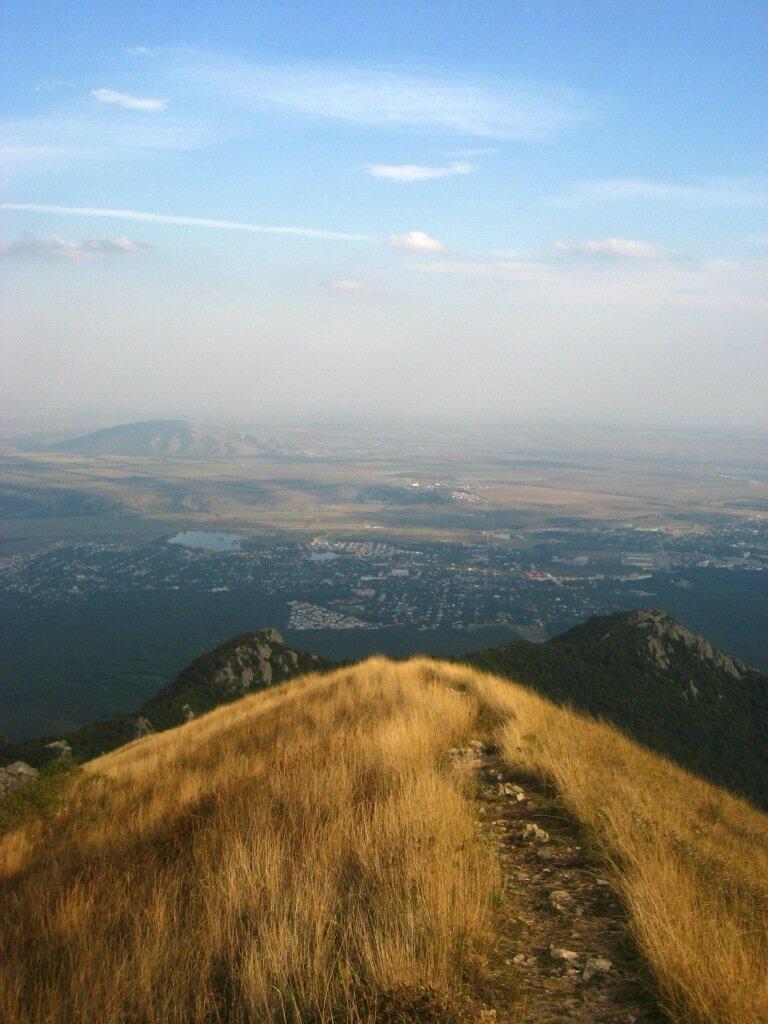 Тропа на вершину Бештау