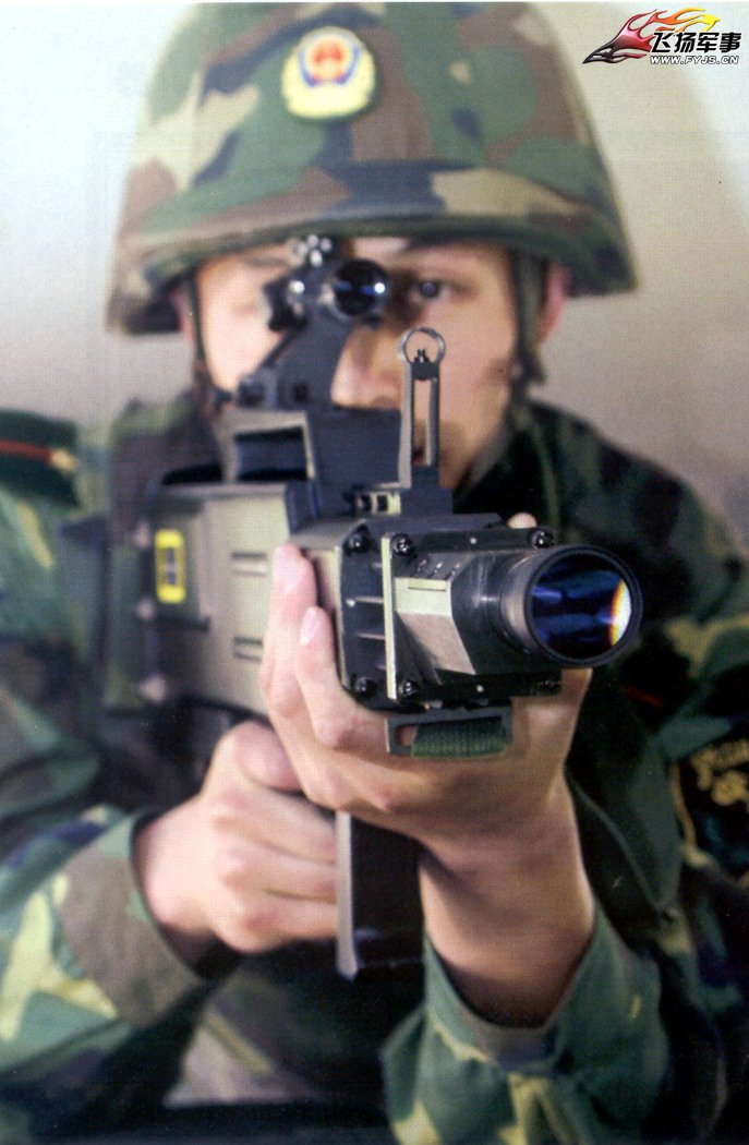 Демонстрация «лазерного оружия» китайского производства