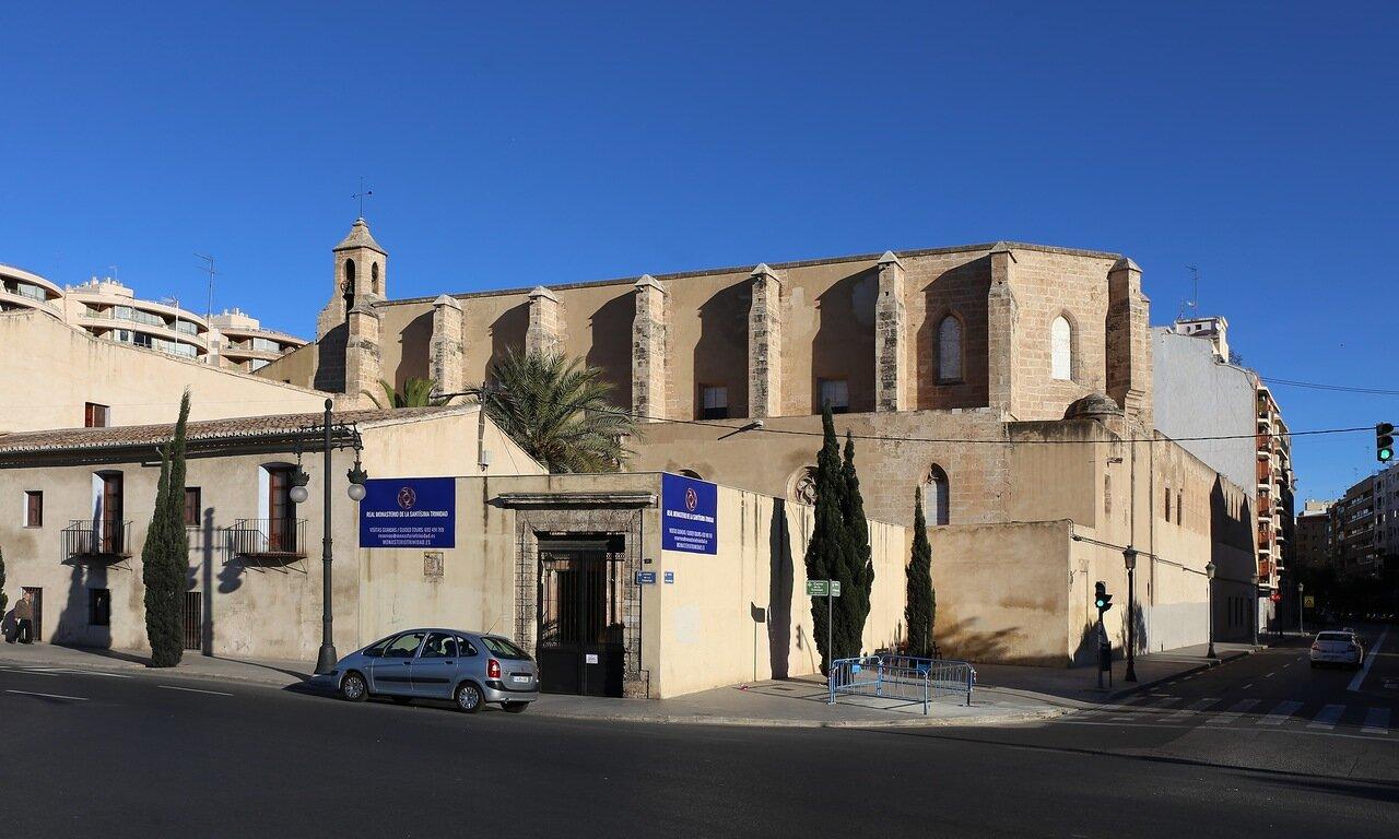 Валенсия, Valencia, Монастырь Троицы, Monasterio de la Trinidad