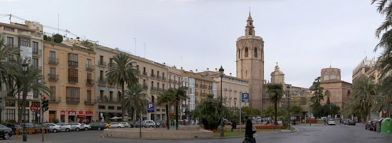 Валенсия, Valencia. Placa de la Reina. Пласа де ла Рейна