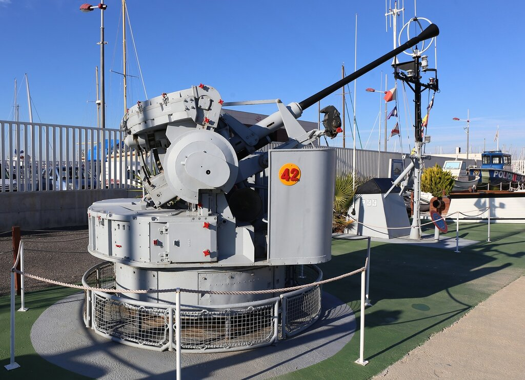Bofors 40mm L/70 (Maritime museum in Torrevieja)