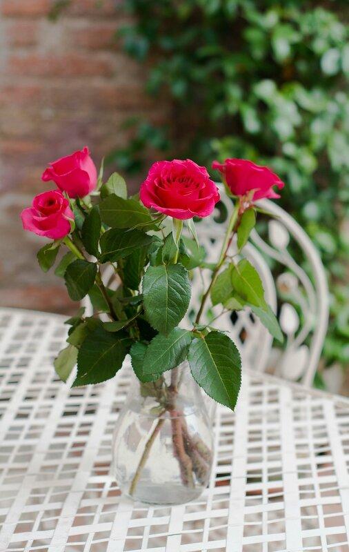 розы....в Тоскане....