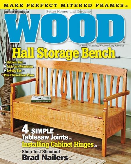 Книга Журнал: Wood Magazine №236 (октябрь 2015)
