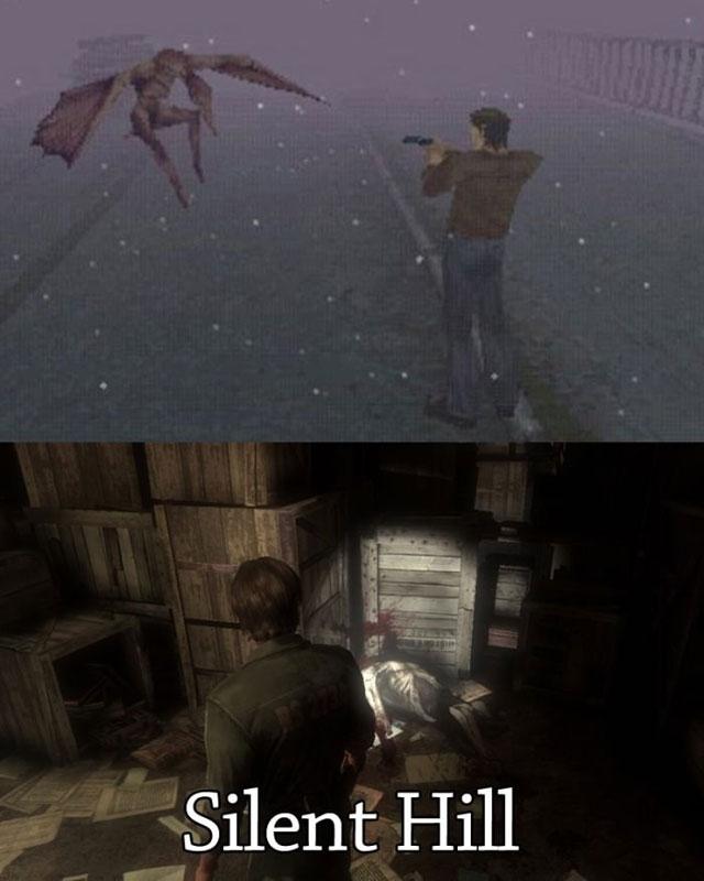 Эволюция графики в играх