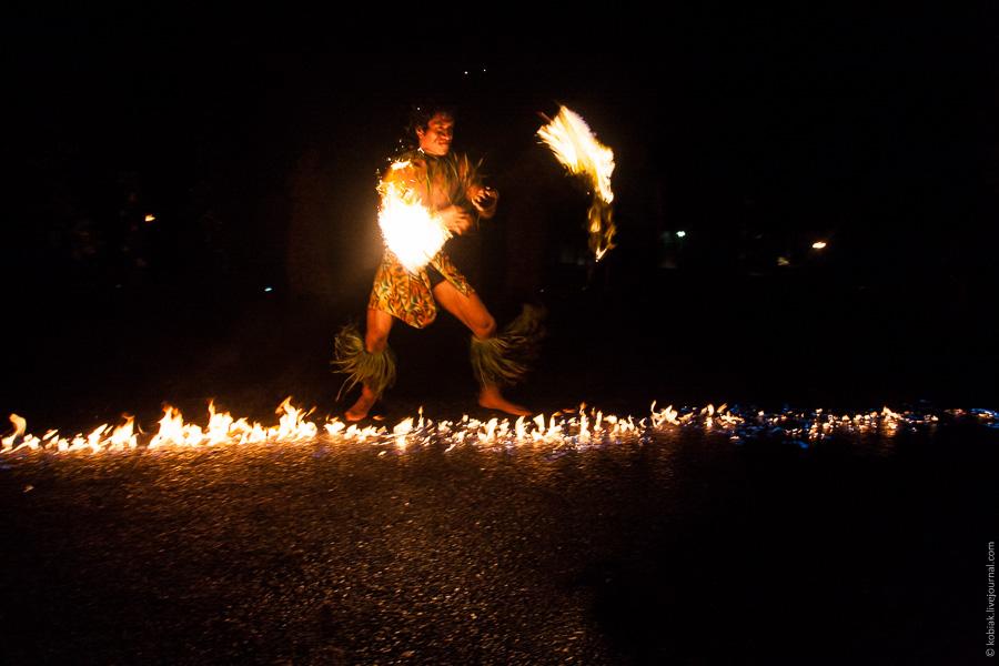 Самоа: танцы с огнём