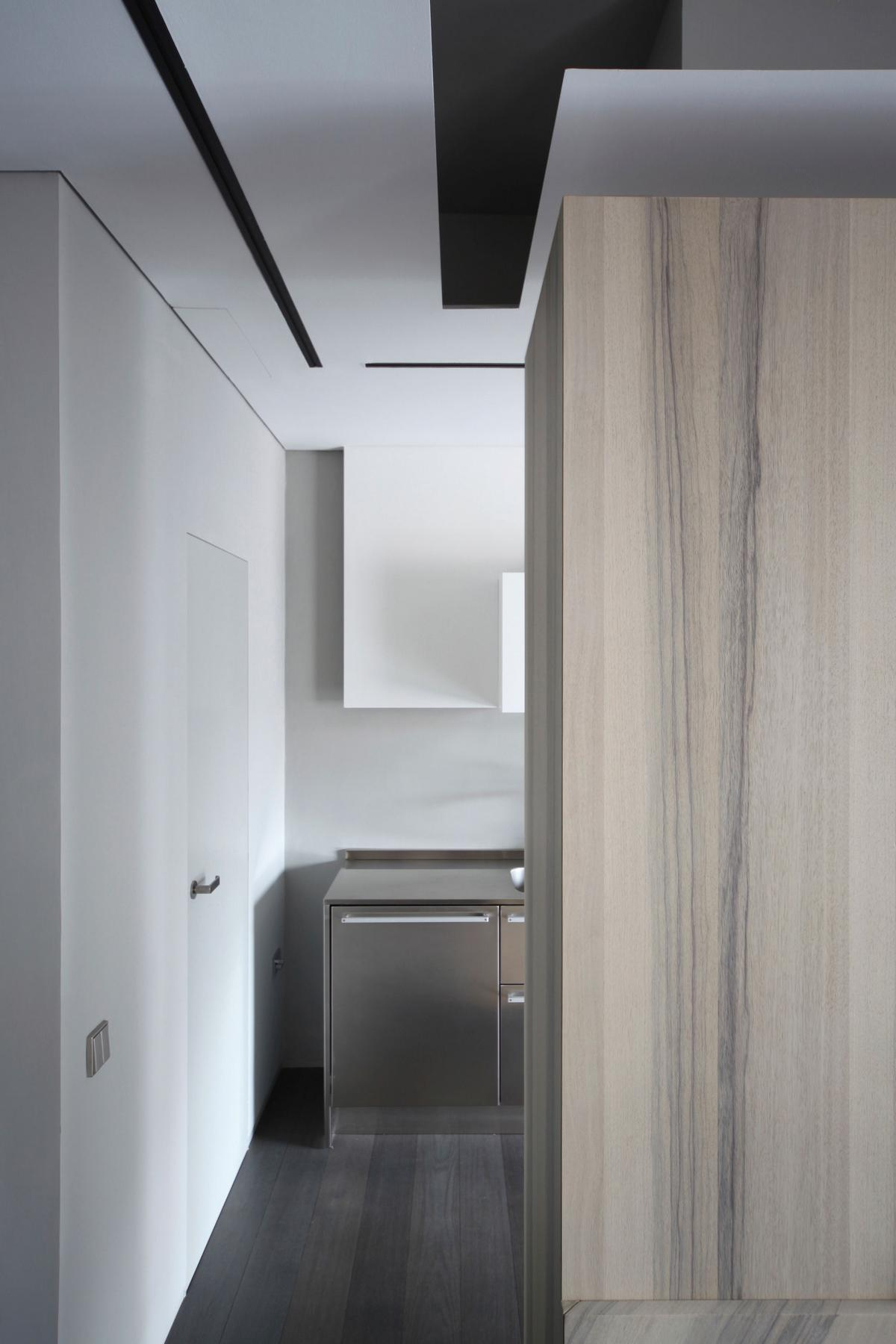 An (In)Discreet Eye, дизайн-ателье UdA, UdA, квартира в Турине, стильный дизайн интерьера, стильная квартира обзор, роскошная квартира в Италии, арка