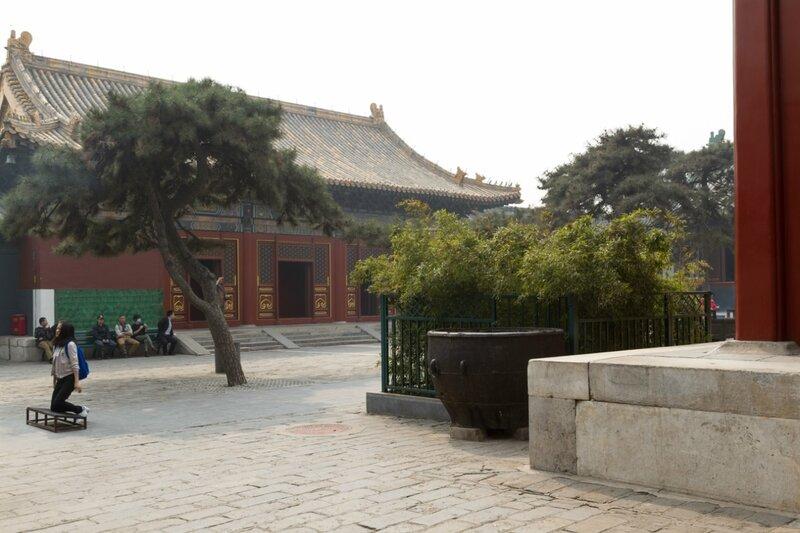 Зал Вечного Благословения, монастырь Юнхэгун, Пекин