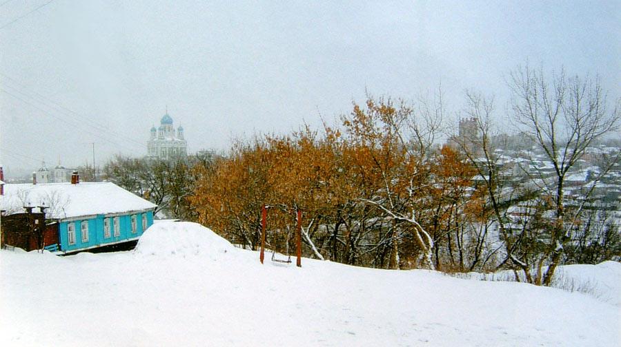 Место в Ламской слободе, на котором стояла Космодамианская церковь