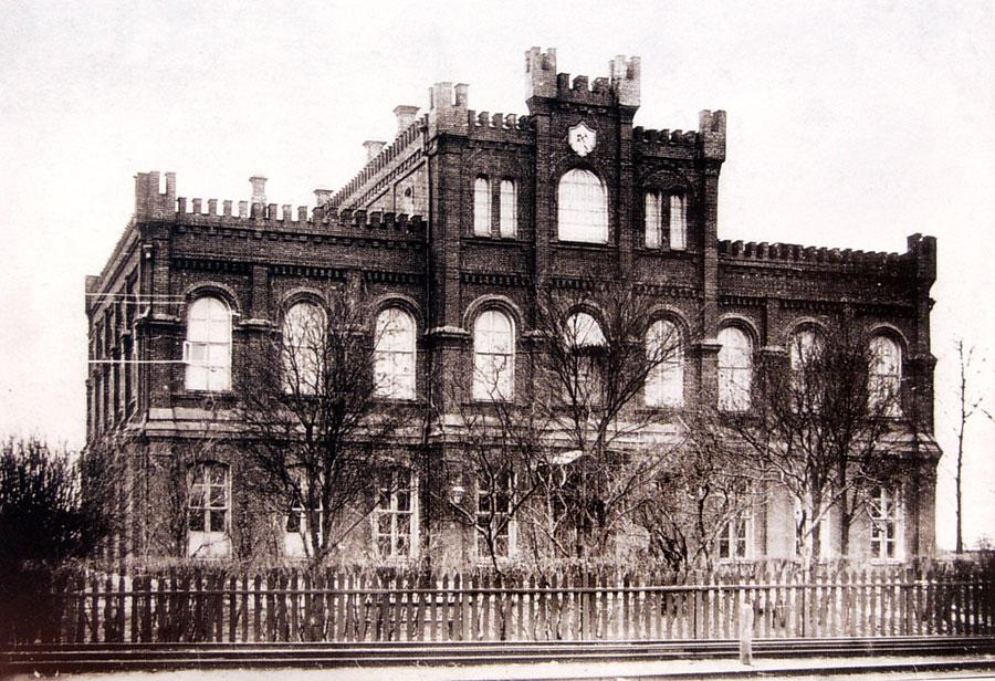 Железнодорожное училище в Ельце в 1930-е годы