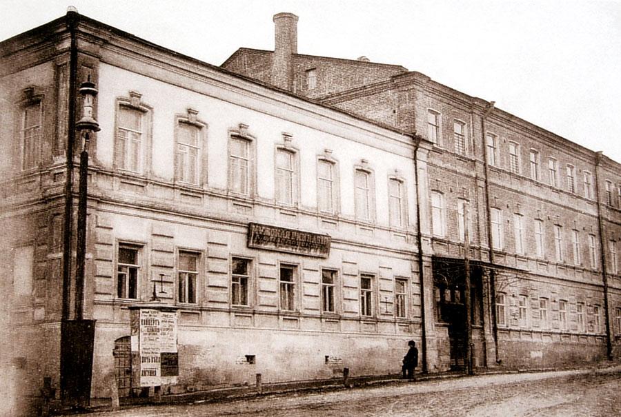 Здание мужской гимназии Павловского в Ельце