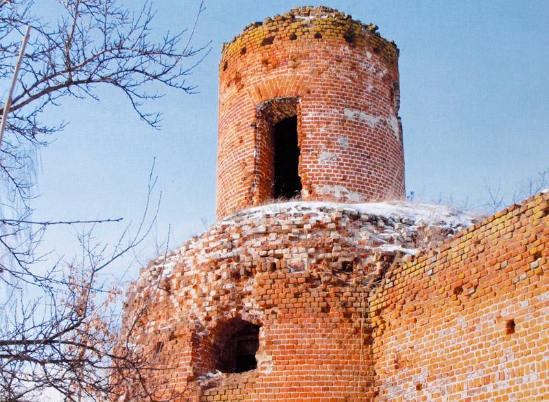 Северо-западная башня монастыря