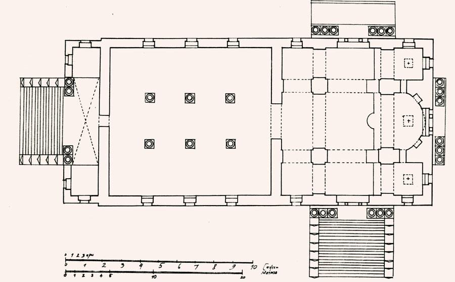 План Знаменского собора Ельца