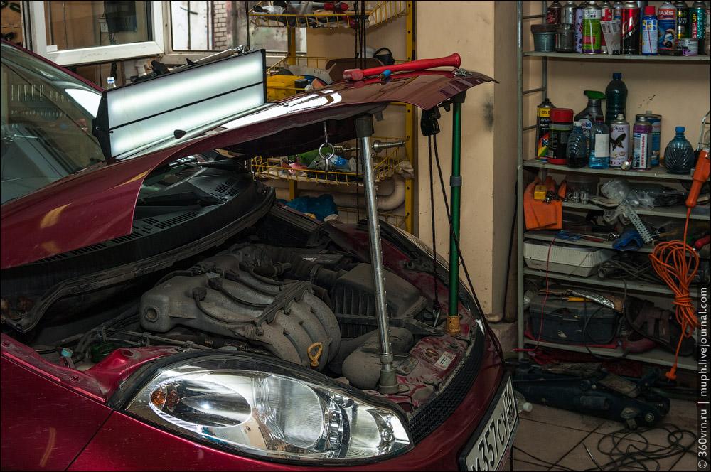 Как удаляют вмятины на машине