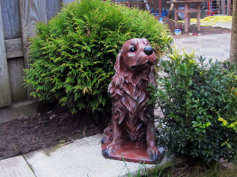 Садовая фигура Спаниель