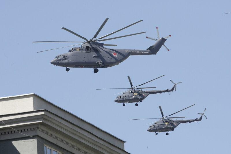 Ми-26 и Ми-8МТВ5