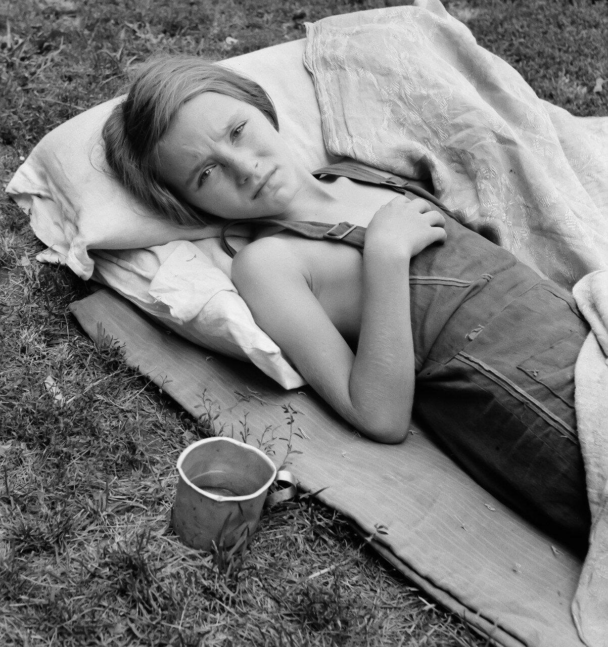 1939. Больной ребенок мигрантов. Долина Якима