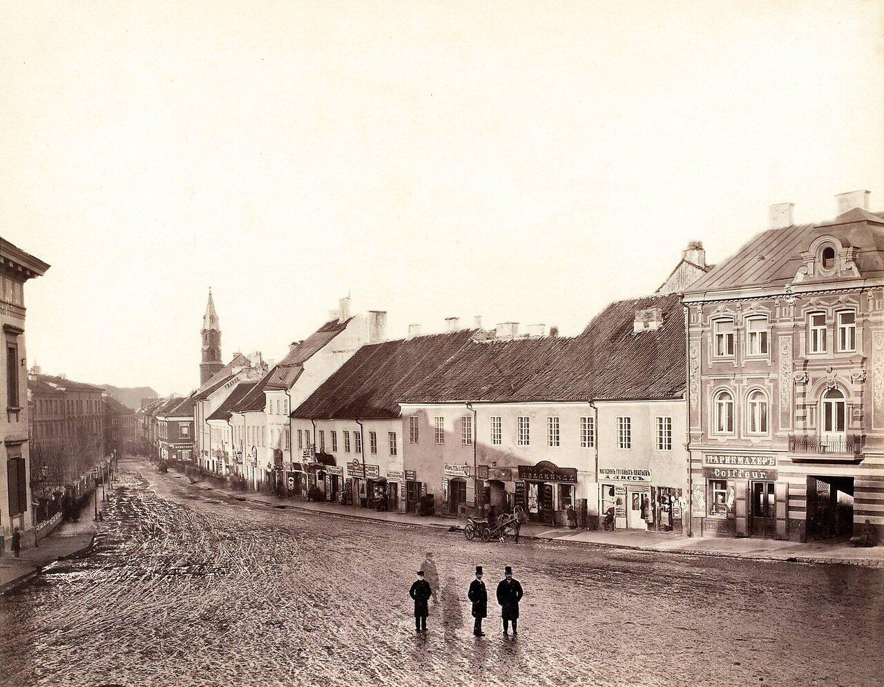 Главная улица 1873-1881