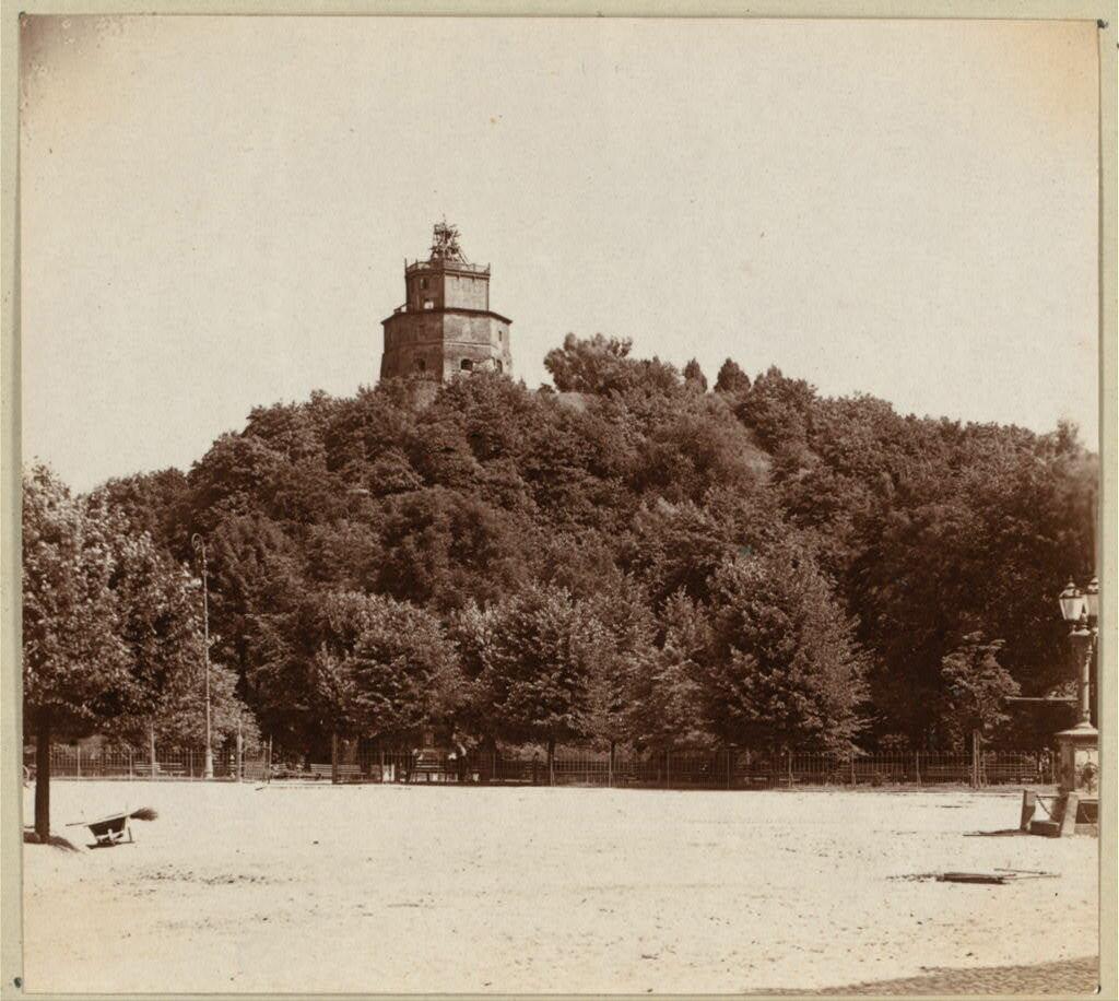 Замковая гора. 1912