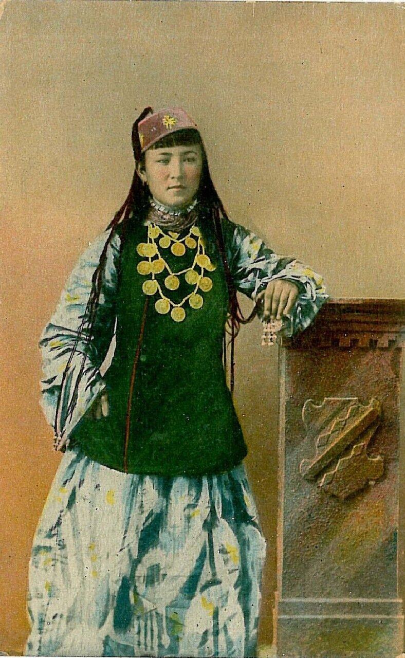 Типы Средне-Азиатских владений. Женщина сарт