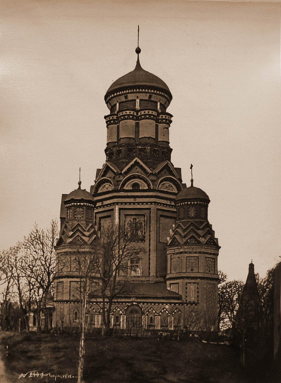 Вид южного фасада церкви Усекновения главы Иоанна Предтечи