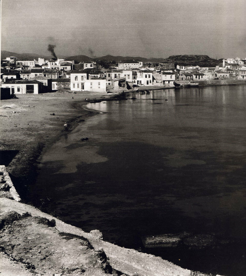 1927. Кипр. Ханья. Пляж Кум Капи
