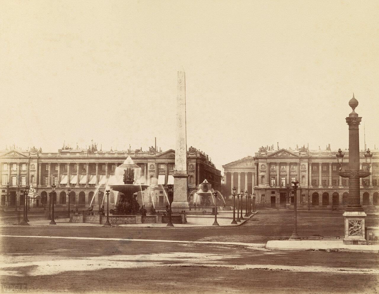 1865. Площадь Согласия