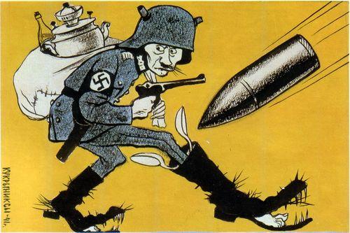 Кукрыниксы. Смотрят жадные враги (1941)