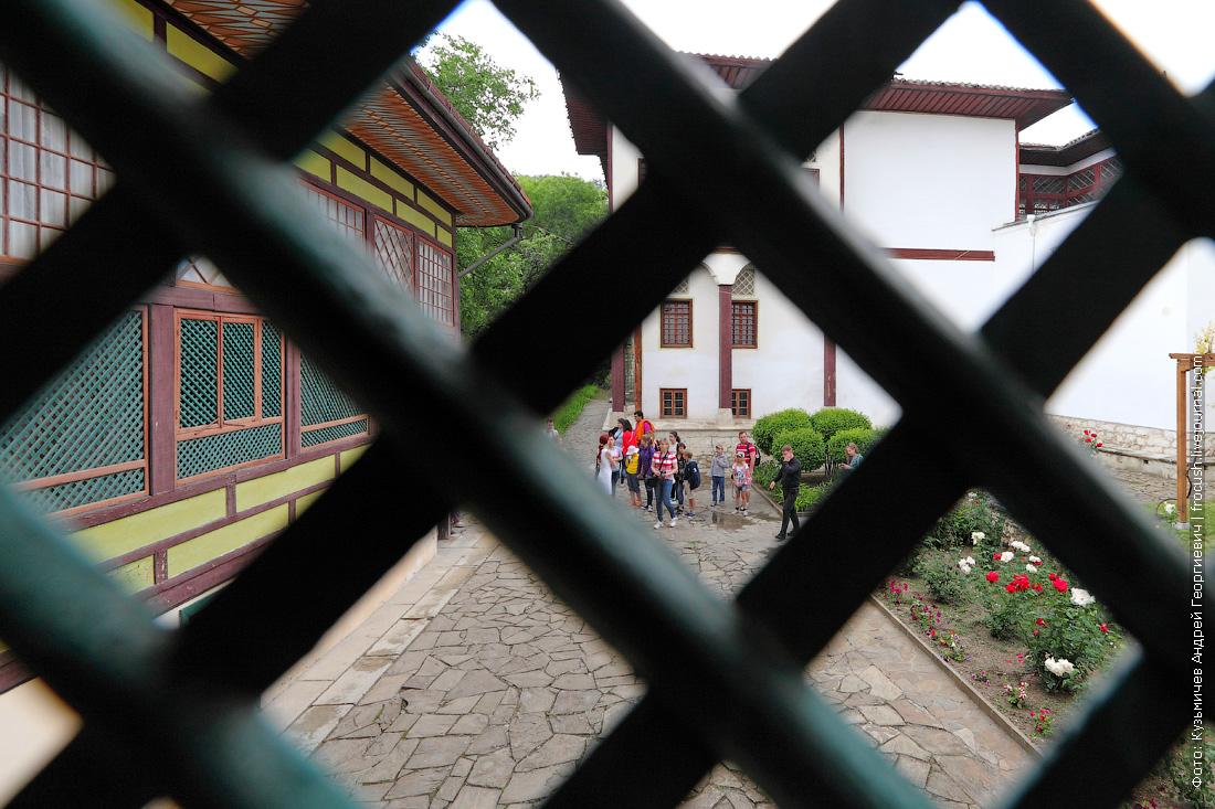 Крым Ханский дворец Гаремный корпус