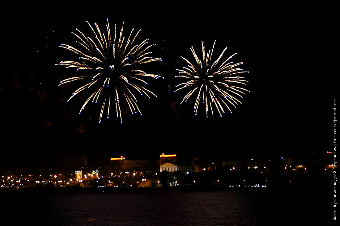 День Победы фейерверк Волгоград 9 мая