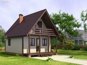 дачный дом недорого