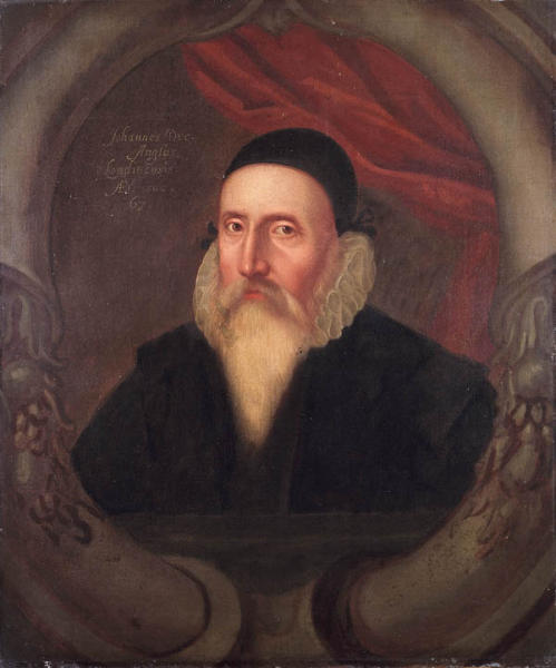 John Dee (1527 – 1608 or 1609), советник Елизаветы I, математик, философ, оккультист