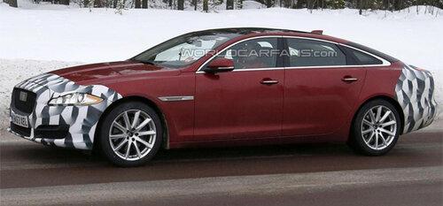 Jaguar обкатывает обновленный XJ