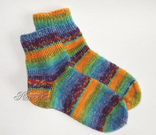 roventa-handmade, socks, opal, knitting, носки спицами, пряжа опал,  носочная пряжа