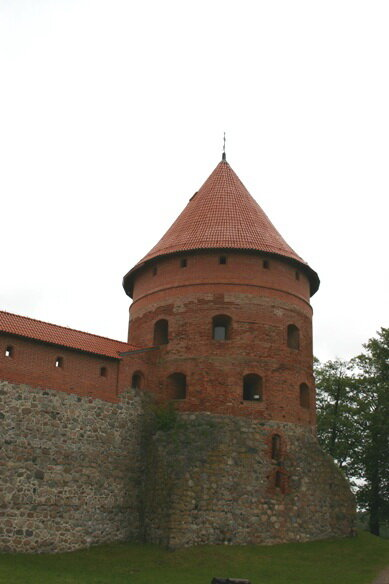 юго-восточная башня Тракайского замка