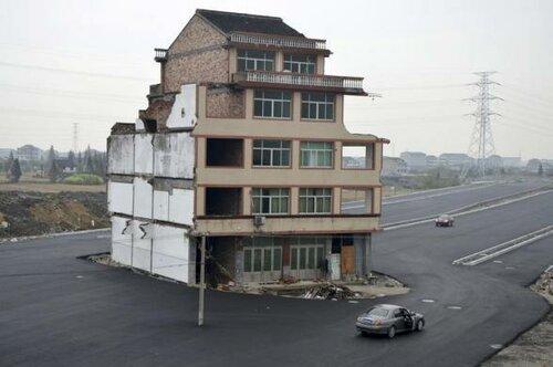 причудливые здания