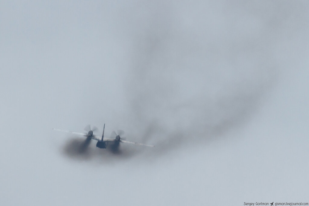 Ан-32 - что за самолет и чем отличается от Ан-26. Фото: Sergey Gortman