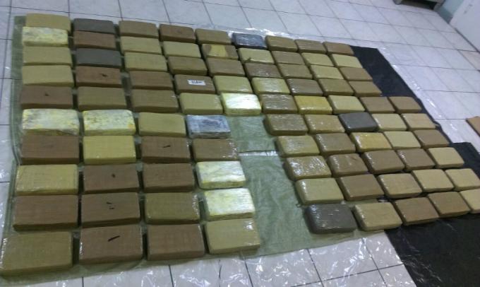 Вблизи морского порта вСанкт-Петербурге задержали наркоторговцев и90кг кокаина