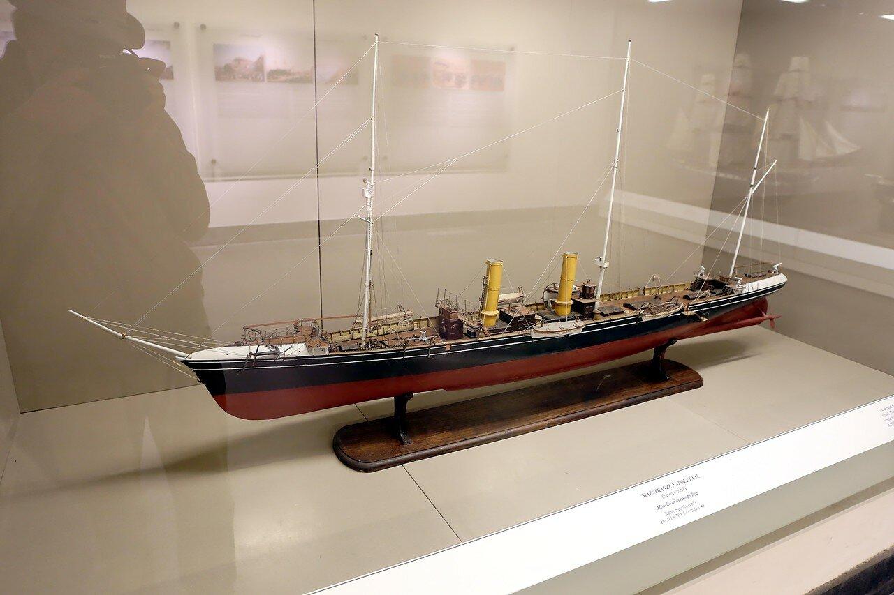 Неаполь. Музей Сан-Мартино. Морской зал