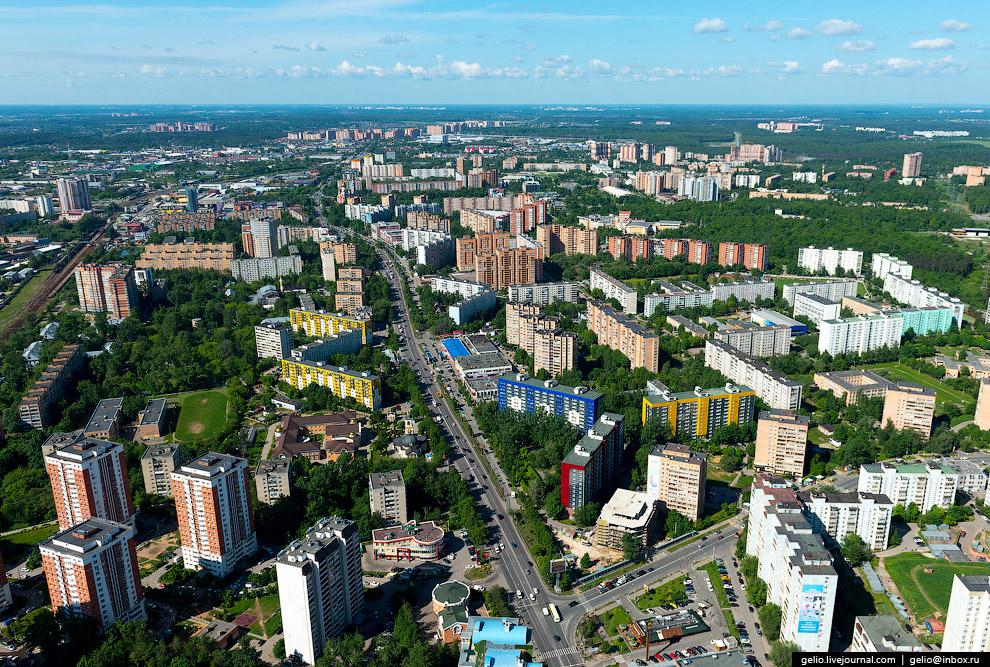24. Жилой комплекс «Да Винчи» недалеко от центра Одинцово.