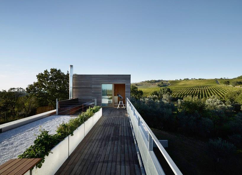 Частный дом среди виноградников в Тоскане