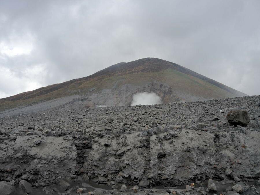 Вершина вулкана
