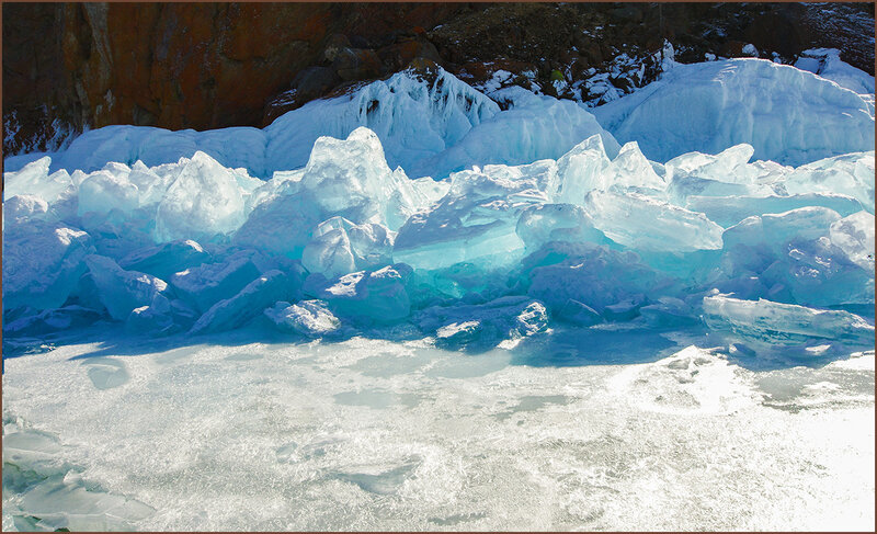 Знаменитый голубой лёд