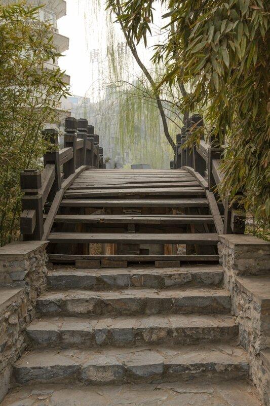 Мост, Парк национальностей, Пекин