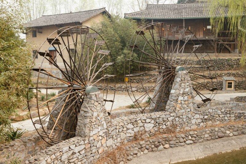Водяные колеса, Парк национальностей, Пекин